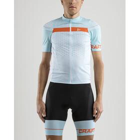 Craft Route Bike Jersey Shortsleeve Men blue/turquoise